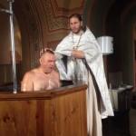 Крещение наших ребят
