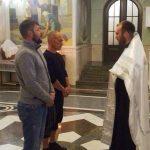 Крещение в Александро — Невском Соборе нашего брата Андрея.