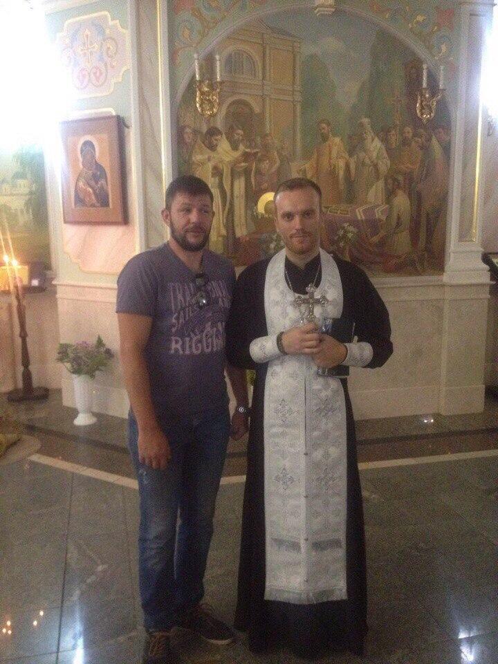 встреча по случаю дня рождения нашего духовного наставника Дмитрия Прокоповича.