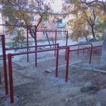 Установка спортивных площадок во дворах города