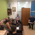 Ялта: Лекция в реабилитационном центре